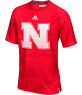 Men's adidas Nebraska Cornhuskers College Sideline Training T-Shirt