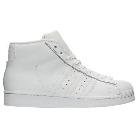 Boys' Grade School adidas Pro Model Casual Shoes