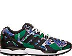 Men's adidas ZX Flux Floral Print Casual Shoes