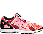 Men's adidas ZX Flux Floral Print Casual Shoes