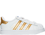 Girls' Toddler adidas Superstar Casual Shoes