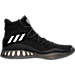 Right view of Men's adidas Crazy Explosive Primeknit Basketball Shoes in Core Black/Footwear White/Granite