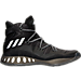 Right view of Men's adidas Crazy Explosive Basketball Shoes in Core Black/Core Black