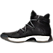 Left view of Men's adidas Crazy Explosive Basketball Shoes in Core Black/Core Black