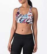 Women's Reebok Hero Racer Garden Rebel Padded Sports Bra
