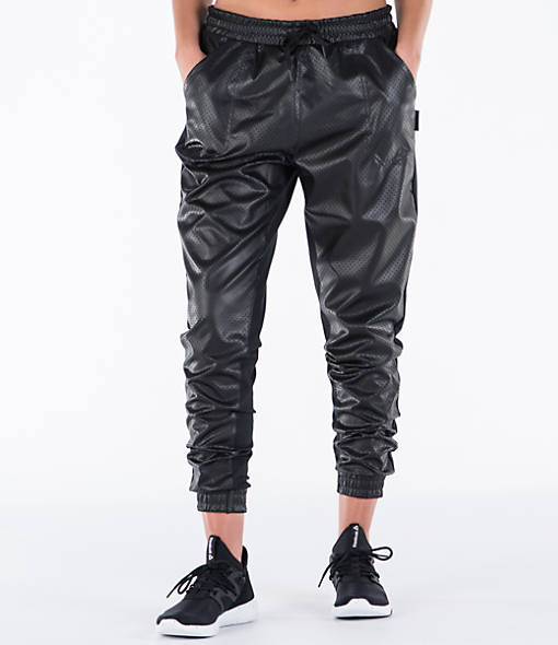 Women's Reebok Studio Cardio Leather Jogger Pants