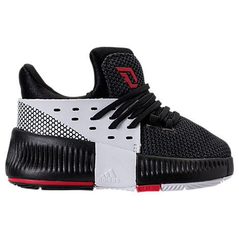 Boys' Toddler adidas Dame 3 Basketball Shoes