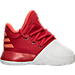 Right view of Boys' Toddler adidas Harden Vol. 1 Basketball Shoes in White/Red - Home