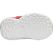 Bottom view of Boys' Toddler adidas Harden Vol. 1 Basketball Shoes in White/Red - Home