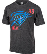 Men's Majestic Oklahoma City Thunder NBA Kevin Durant Fear T-Shirt