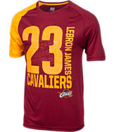 Men's Majestic Cleveland Cavaliers NBA LeBron James Skill T-Shirt