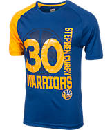 Men's Majestic Golden State Warriors NBA Stephen Curry Skill T-Shirt
