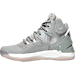Left view of Boys' Grade School adidas D Rose 7 Basketball Shoes in Grey