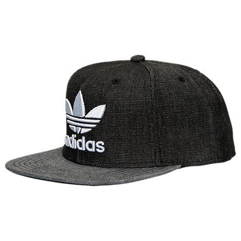 Men's adidas Originals Trefoil Plus Snapback Hat