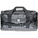 Front view of adidas Originals National Duffel Bag in Black