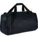 Back view of Nike Hoops Elite Max Air Large Basketball Duffel Bag in Black/White
