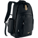 Front view of Nike Kyrie Basketball Backpack in Black/Metallic Gold