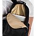 Alternate view of Nike Kyrie Basketball Backpack in Black/Metallic Gold