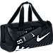 Back view of Nike Alpha Adapt Crossbody Small Duffel Bag in Black/White