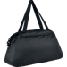 Back view of Women's Nike Auralux Solid Club Training Bag in Black/White
