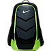 Front view of Nike Vapor Speed Training Backpack in Black/Volt/Metallic