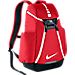 Front view of Nike Hoops Elite Max Air Team 2.0 Backpack in University Red/Black/White