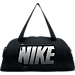 Front view of Women's Nike Gym Club Training Duffel Bag in Black/White