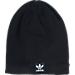 Front view of Men's adidas Originals Standard Knit Hat in Black