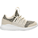 Right view of Boys' Preschool adidas Originals Tubular Radial Casual Shoes in Clear Brown/Linen Green/Vintage White