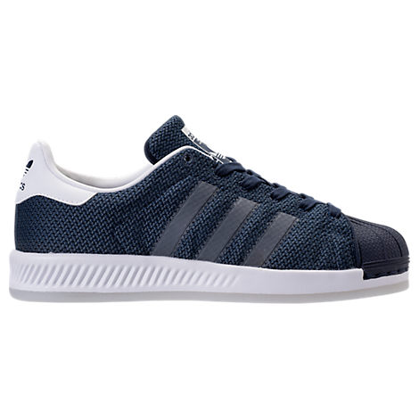 Boys' Grade School adidas Superstar Bounce Casual Shoes