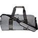Front view of Jordan Unstructured Duffel Bag in Dark Grey Heather/Black
