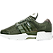 Left view of Men's adidas Climacool 1 Running Shoes in Tent Green/Vintage White
