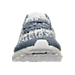 Front view of Men's adidas UltraBOOST Uncaged Running Shoes in Non Dyed/White/Navy