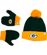 Kids' '47 Green Bay Packers NFL Bam Bam Knit Hat