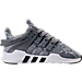 Right view of Boys' Preschool adidas EQT ADV Running Shoes in Grey/White