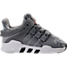 Right view of Boys' Toddler adidas EQT ADV Running Shoes in Grey/White