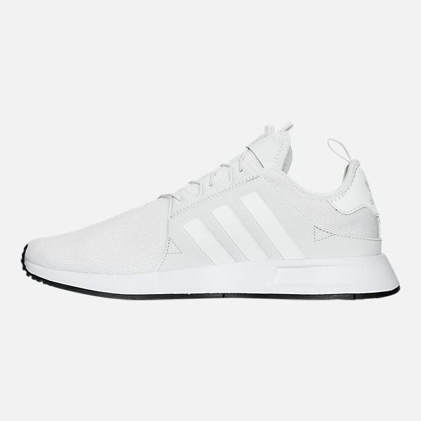 Left view of Men's adidas X_PLR Casual Shoes in White/Vintage White