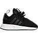 Right view of Boys' Toddler adidas Originals XPLR Casual Shoes in Black/White