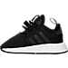 Left view of Boys' Toddler adidas Originals XPLR Casual Shoes in Black/White