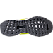 Bottom view of Men's adidas Energy BOOST Running Shoes in Solar Yellow/Core Black/Grey