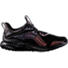 Right view of Boys' Grade School adidas AlphaBounce Xeno Running Shoes in Black Xeno