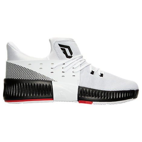 Boys' Preschool adidas Dame 3 Basketball Shoes