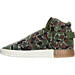 Left view of Men's adidas Tubular Invader Strap Casual Shoes in Camo/White/Tan