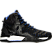 Right view of Men's adidas D Rose 7 Primeknit Basketball Shoes in Black/Red