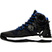 Left view of Men's adidas D Rose 7 Primeknit Basketball Shoes in Black/Red