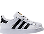 Kids' Toddler adidas Superstar Casual Shoes
