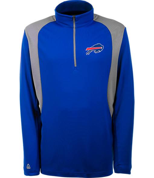 Men's Antigua Buffalo Bills NFL Delta Quarter Zip Shirt