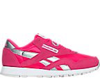 Girls' Grade School Reebok Classic Nylon Casual Shoes