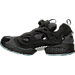 Left view of Men's Reebok Insta Pump Casual Shoes in Black/Fire Spark/Stonewash
