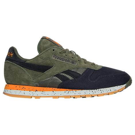 Men's Reebok Classic Leather Speckle Casual Shoes